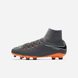 Dievcenske Kopačky Nike Jr. Hypervenom Phantom III Academy Dynamic Fit Just Do It FG Tmavo Siva / Bi